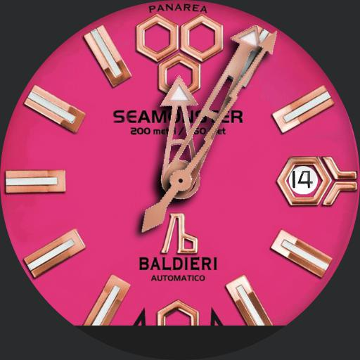 Baldieri Seamonster Panarea Pink