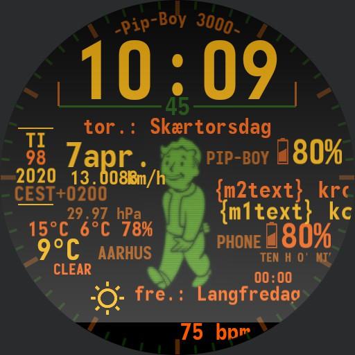 Pip-Boy 3000 - KDB autumn Copy