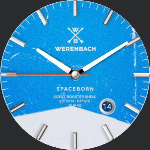 W3renbach Soyuz Booster Blue