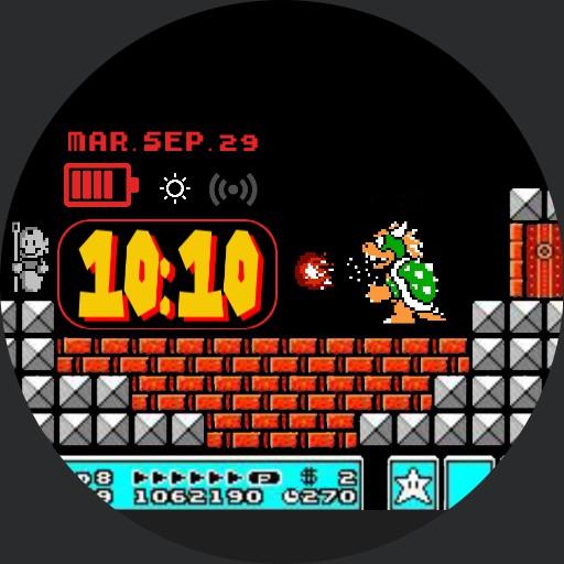 Mario Bros 3 final fight