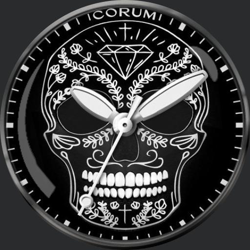 Corum Heritage Bubble Skull
