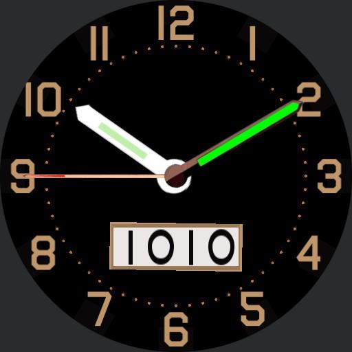 Timex Military Field Watch - No Bezel Edition v.2.0 Copy