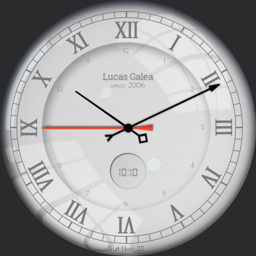 Lucas classic white watch Copy