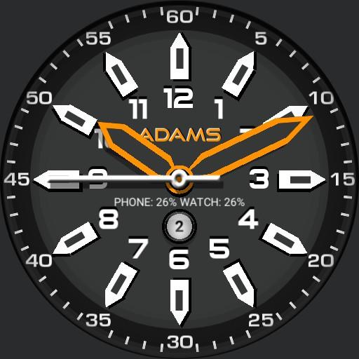 Chronos Orange w/Date