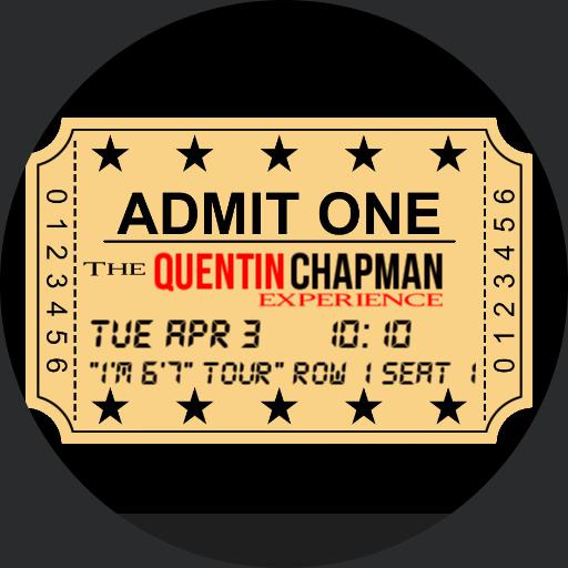 Quentin Chapman Ticket