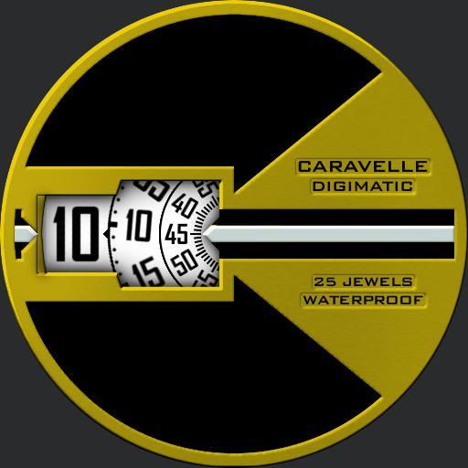 Caravelle Digimatic V2 Minimal Dim