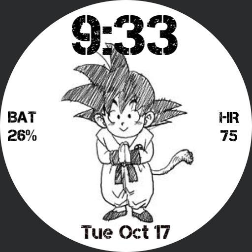 Goku Retro JDR