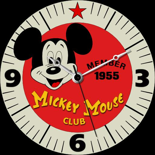 Mickey Mouse Club Member Watch 1955 v2