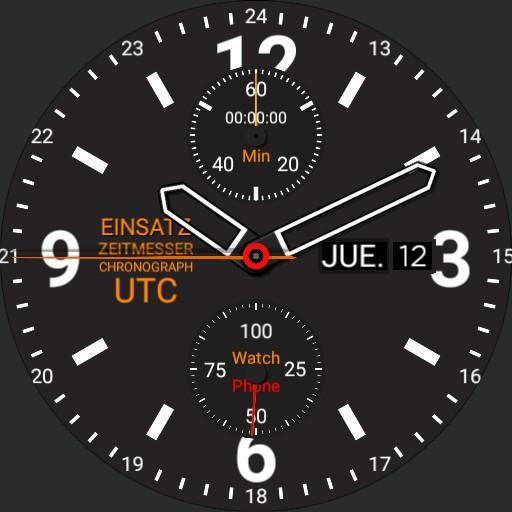 Mission Timer Chronograph UTC 3.3-a
