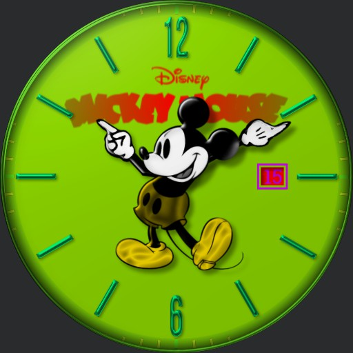 Mickey Mouse neon
