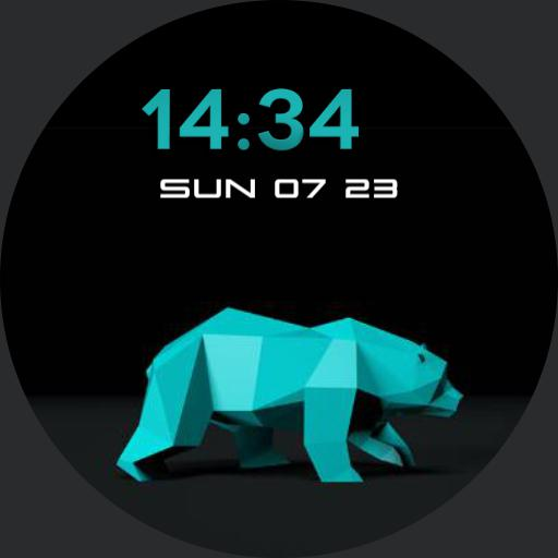Polar bear - Animated