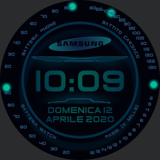Samsung Militare NEON BLUE