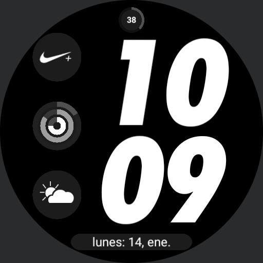nike apple watch digital 1 by geeceejay