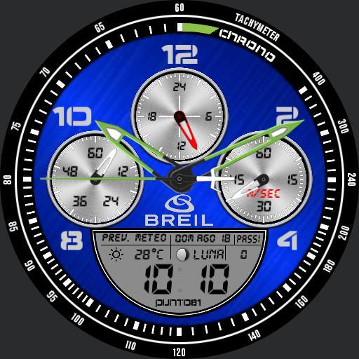 Breil Blue Punto81