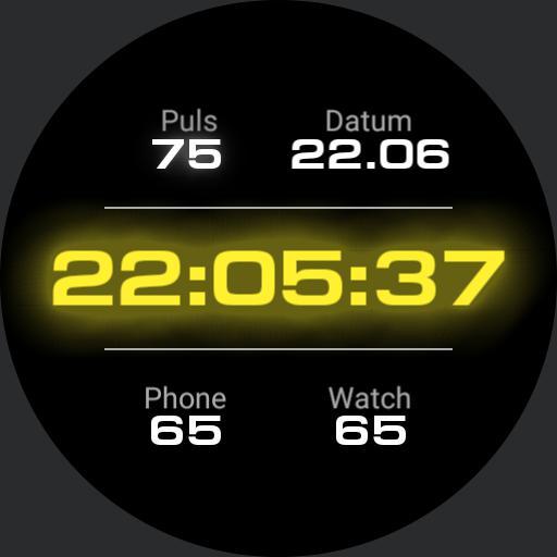 Gear Dashboard Yellow