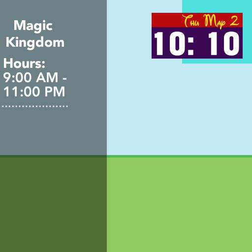 Magic Kingdom Play watchface