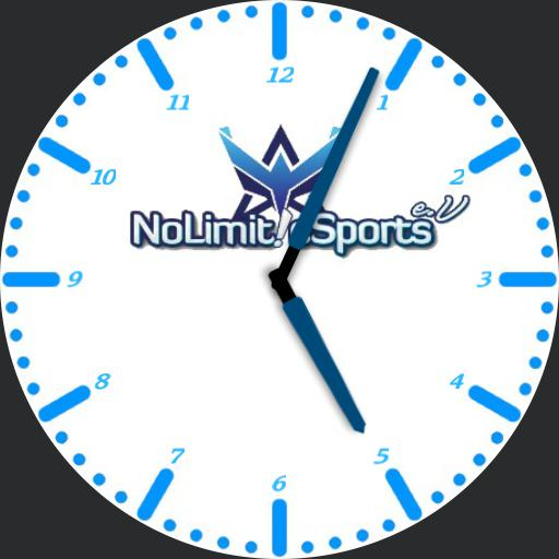 NoLimit eSports Zifferblatt