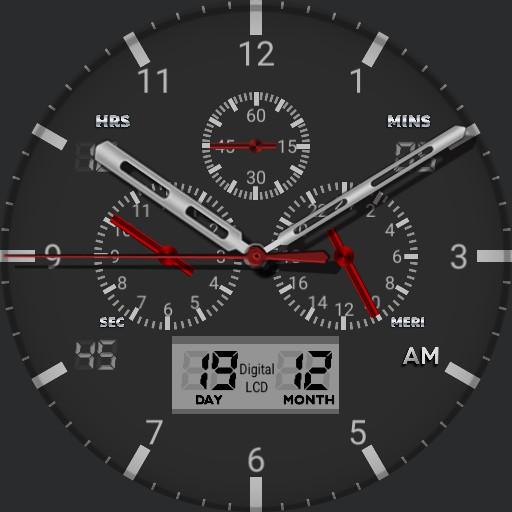 premium watch face v3