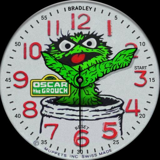 Bradley - Oscar the Grouch