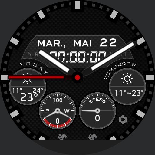 kosiba 4 dials stopwatch