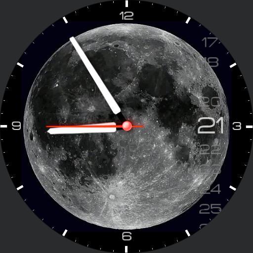 Rotating Moon