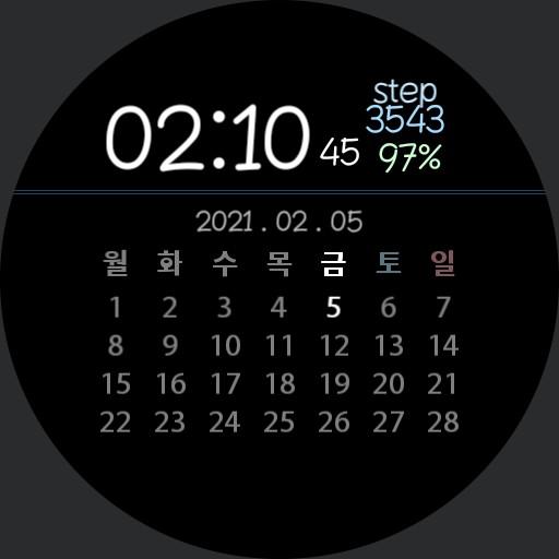 Calendar Watch VSV3 Copy