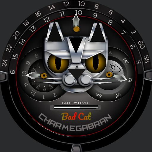 CHARMEGABRAN, Bad Cat