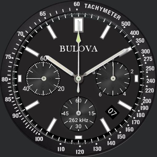 BULOVA Special edition dimmed