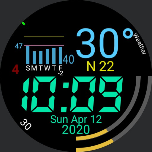 Simple v2.0 Stock Weather  Copy