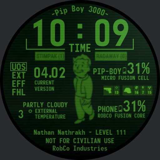 Pip-Boy 3000 - Nathan Edition Copy