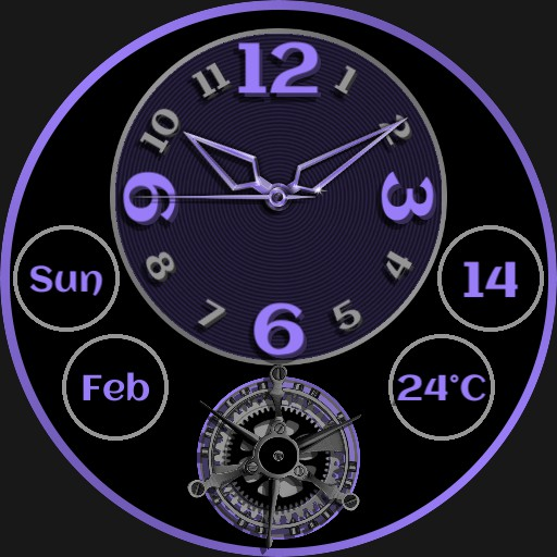 Quatro Time Zones Ucolor