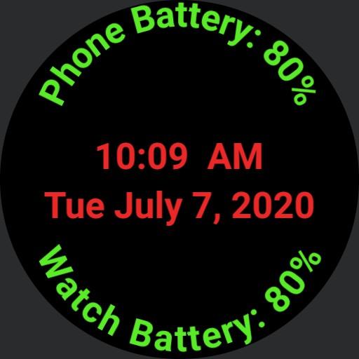 Battery digital