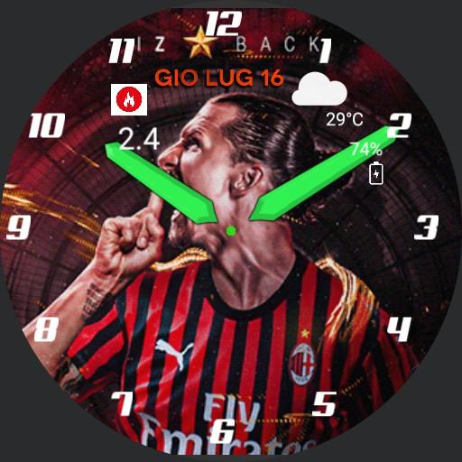 IZ Back Ac Milan