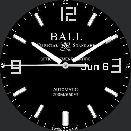 Ball micro gasUTC clean