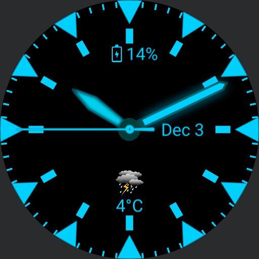 Neon watch Copy