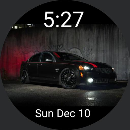 Pontiac G8 time and date