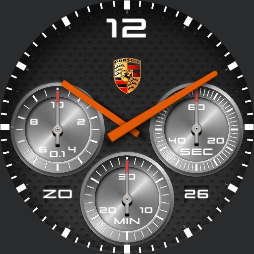Porsche turn Orange