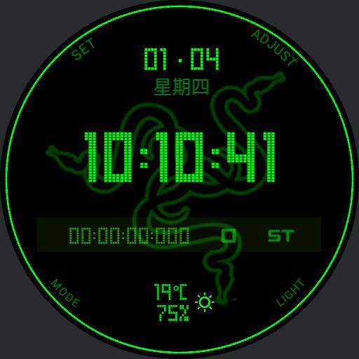 Razer NABU Watchface RGB