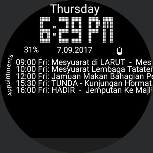 zam calendar