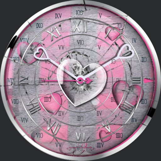 Broken Heart pink Animation