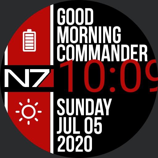 Commander Watch