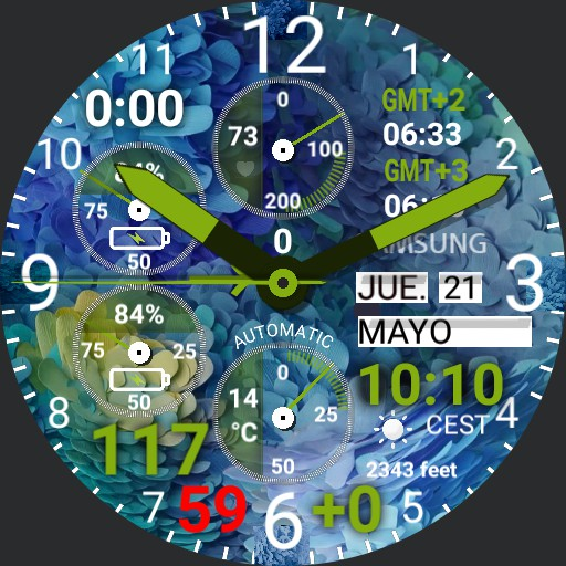 Complicated watch Apr27 Flowered