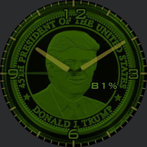 Trump 45 coin