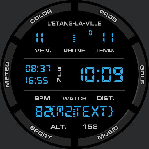 Benolf digital black II