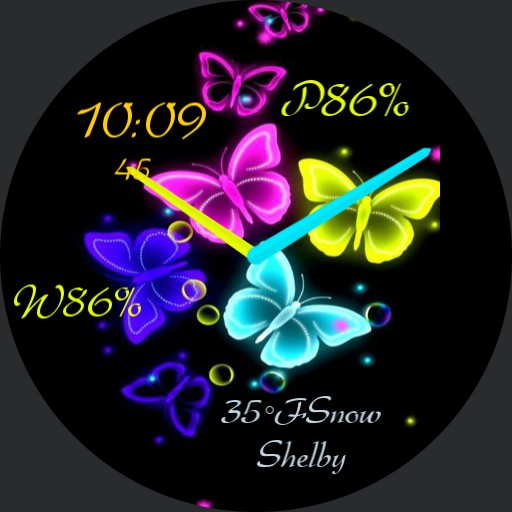 Butterfly in colors  Copy by geri