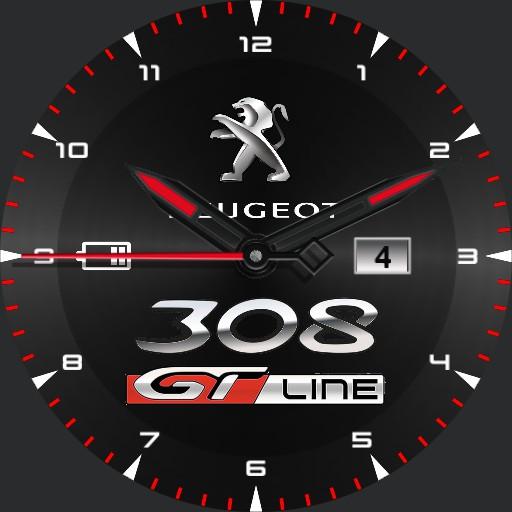 peugeot 308 GT Line normal