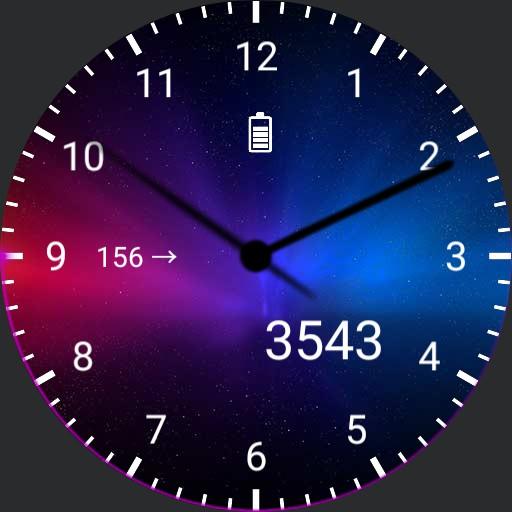 DIABETIS Type 1 analog Galaxy Watch