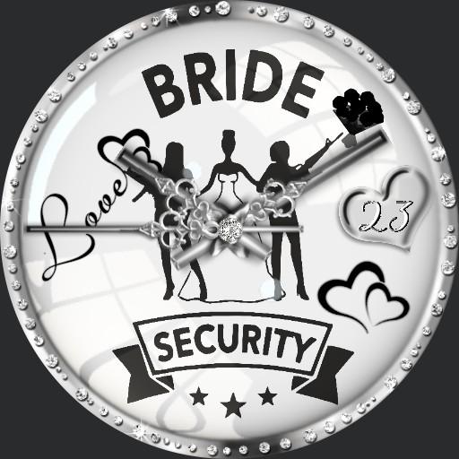 Bride Security Dim nach Tageszeit A.