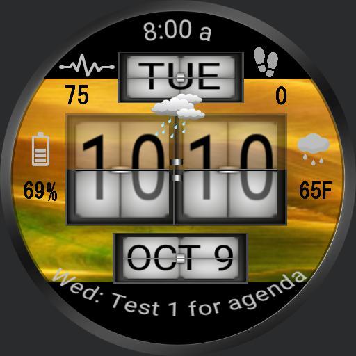 Sense Flip Clock DIGITAL ver 3.0 HTC bg