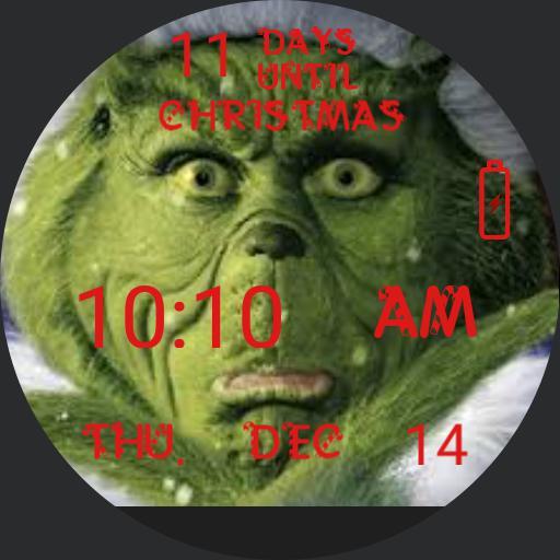 Grinch Xmas 2017 Countdown